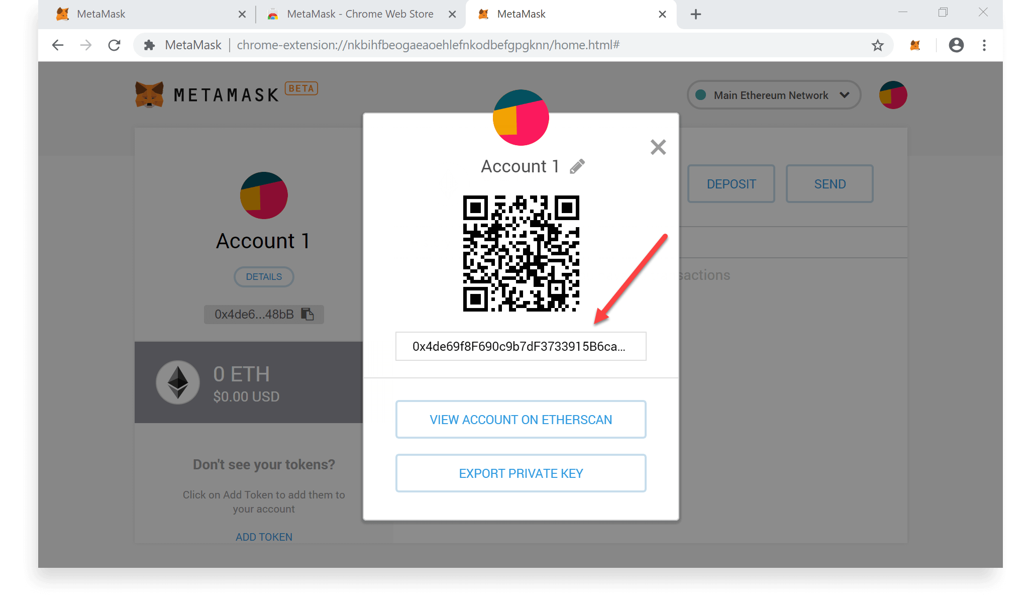 How to Create a MetaMask Wallet - Step 17