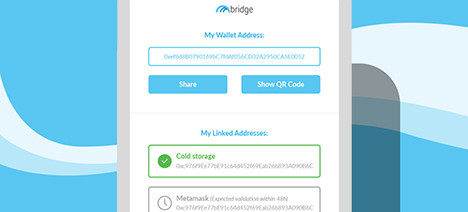 How to Link an Ethereum Address in Bridge Wallet Image